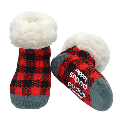 Lumberjack Toddler Slipper Socks - My Leisure Lounge