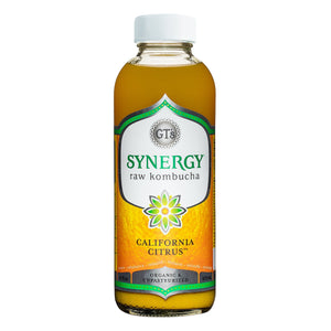 GT's Synergy Kombucha, California Citrus