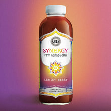 Load image into Gallery viewer, GT's Synergy Kombucha, Lemon Berry