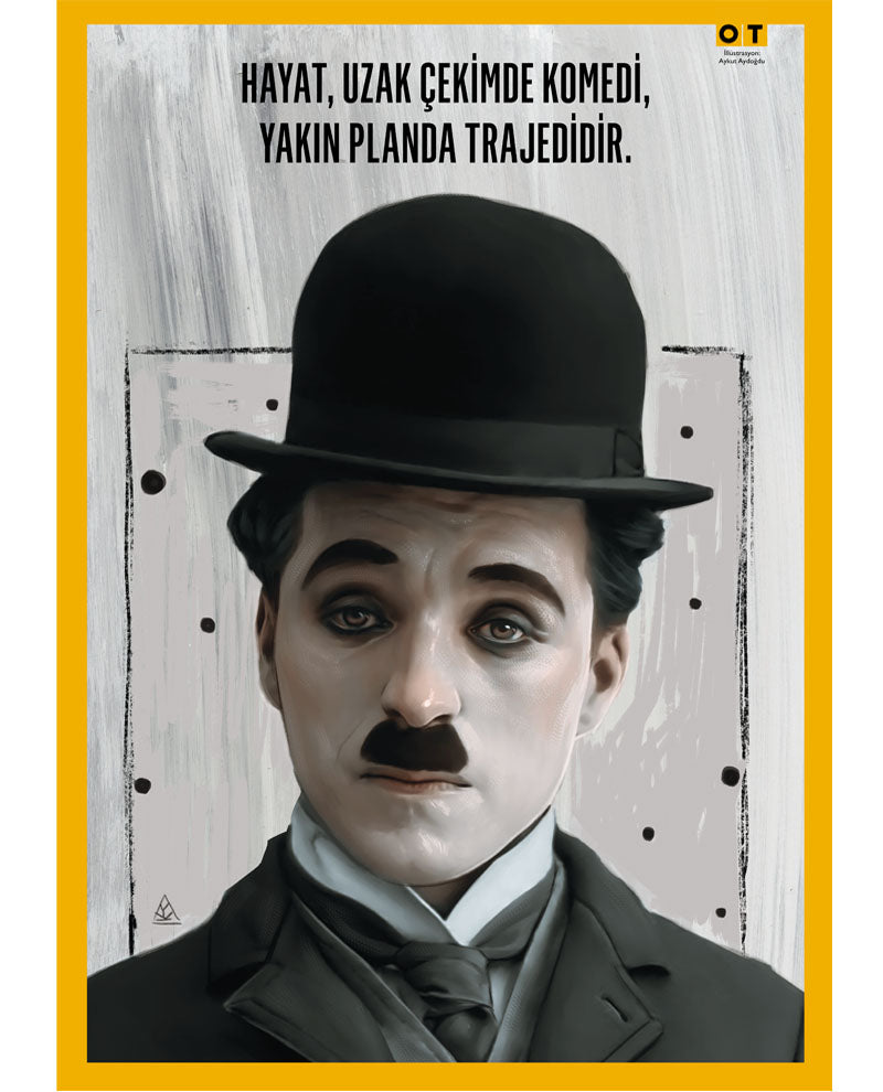 Charlie Chaplin - Poster