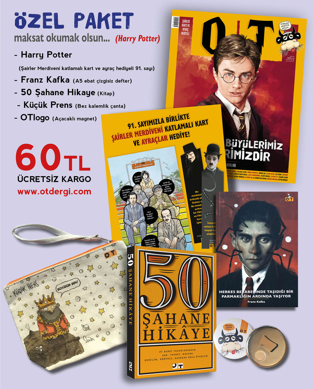 Harry Potter özel paket