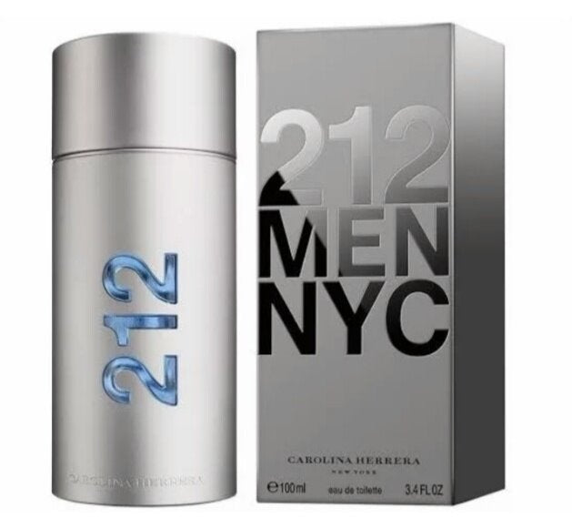 Carolina Herrera 212 MEN NYC 3.4oz