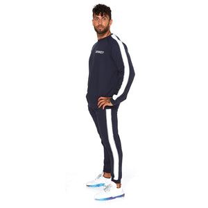 Contrast Track Suit - NAVY 01