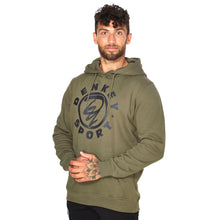Indlæs billede til gallerivisning Warm up hoodie - ARMY 02