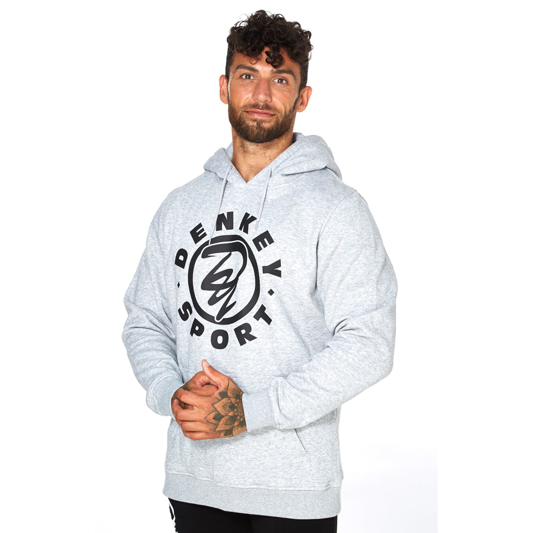 Warm up hoodie - GREY 02