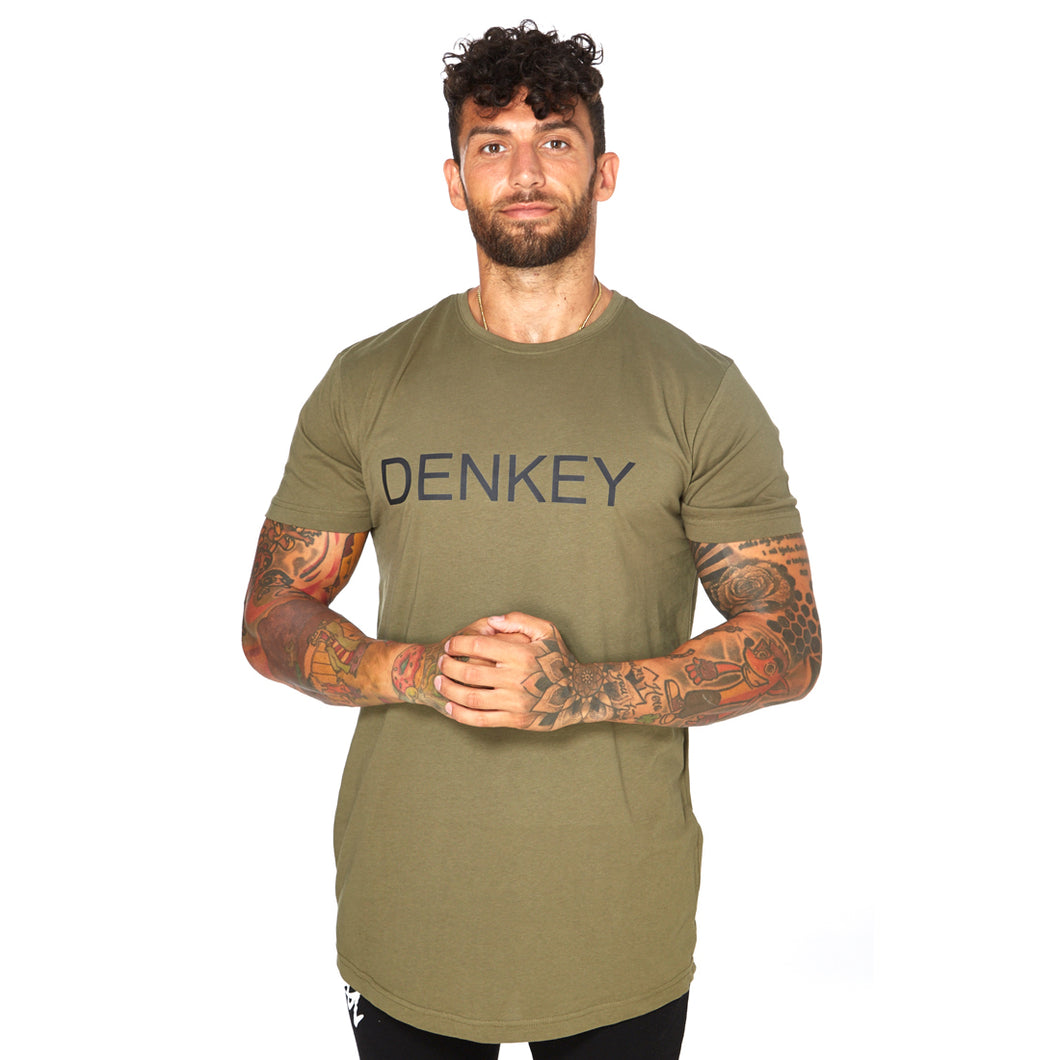 Shaped Long Tee - ARMY 04
