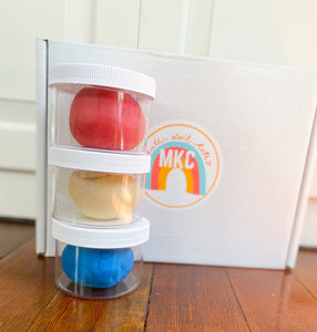 Playdough kit #2: Summer in the USA!