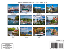Load image into Gallery viewer, Maine 2021 Calendar by Mahoney Publishing