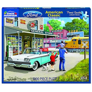 American Classics 1000 Pc Puzzle by White Mountain Puzzle Co