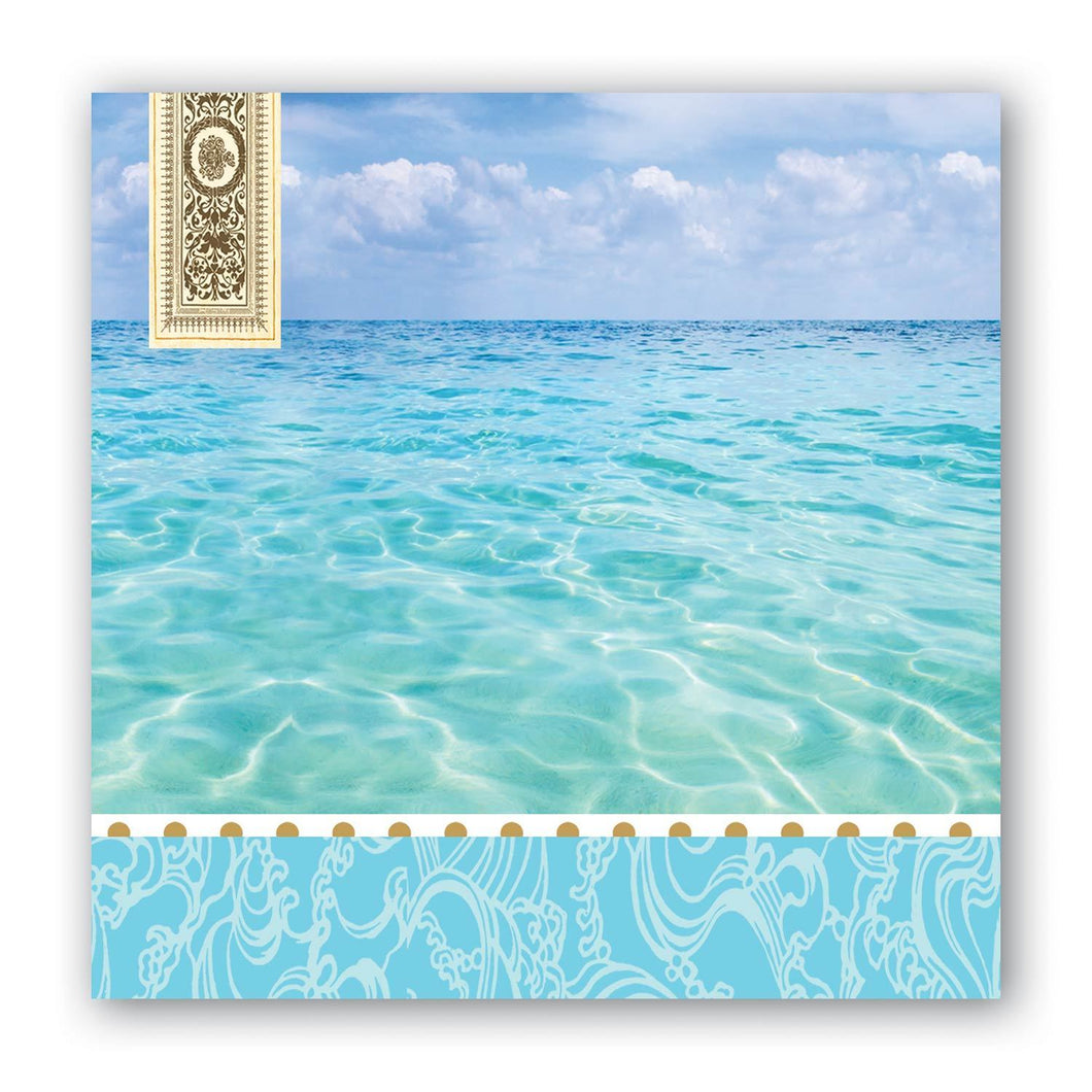 Beach Cocktail Napkins by Michel Design Works