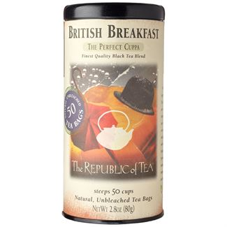 British Breakfast Black Tea Bags by the Republic of Tea