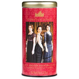 Downton Abbey® English Rose Tea Bags by the Republic of Tea