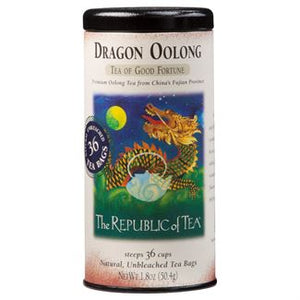 Dragon Oolong Tea Bags by the Republic of Tea
