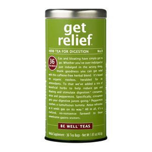 The Republic of Tea get relief® - No. 9 Herb Tea for Digestion
