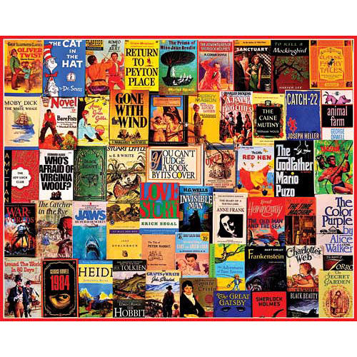 Great Books Puzzle by White Mountain
