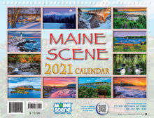Load image into Gallery viewer, Maine Scene 2021 Calendar