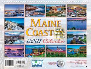 Maine Coast 2021 Calendar by Maine Scene