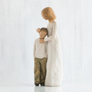 Mother and Son Willow Tree Figurine
