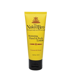 Naked Bee Coconut & Honey Hand & Body Lotion 2.25 oz