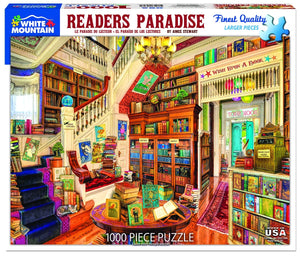 Readers Paradise 1000 pc puzzle by White Mountain