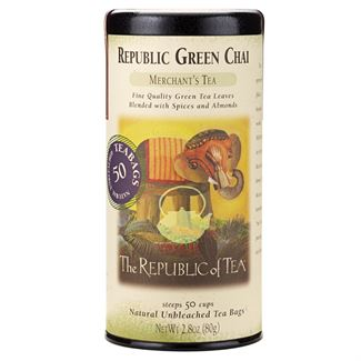 Republic Chai® Green Tea Bags by the Republic of Tea