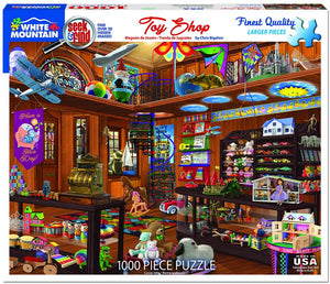 Toy Shop Seek & Find Puzzle by White Mountain