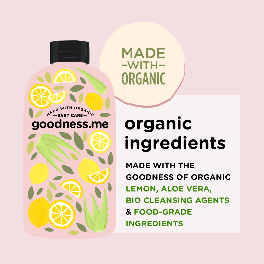 Made with Organic Multi-purpose Cleaner 475 ml - goodnessme.com