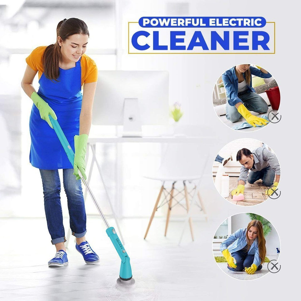 Magical Electric Brush - Cleaner, Spinner And Scrubber