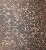 Load image into Gallery viewer, This floorcloth is based on Emperador Dark marble tile.
