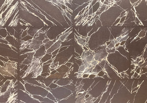 This is a close up of the one foot tile squares, based on Emperador Dark marble tile.