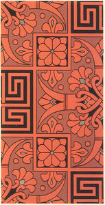 "The source image for this pattern, from Christopher Dresser's ""Studies in Design"", c. 1875."