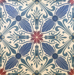 Load image into Gallery viewer, Close up of this floorcloth.