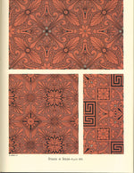 "Load image into Gallery viewer, Source material for this pattern from Christopher Dresser's ""Studies in Design"" c.1875."