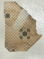 Load image into Gallery viewer, This is a remnant of the original linoleum the floorcloth pattern is based on.