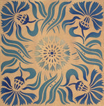 Load image into Gallery viewer, The Collection image for this Thistle Tile pattern.