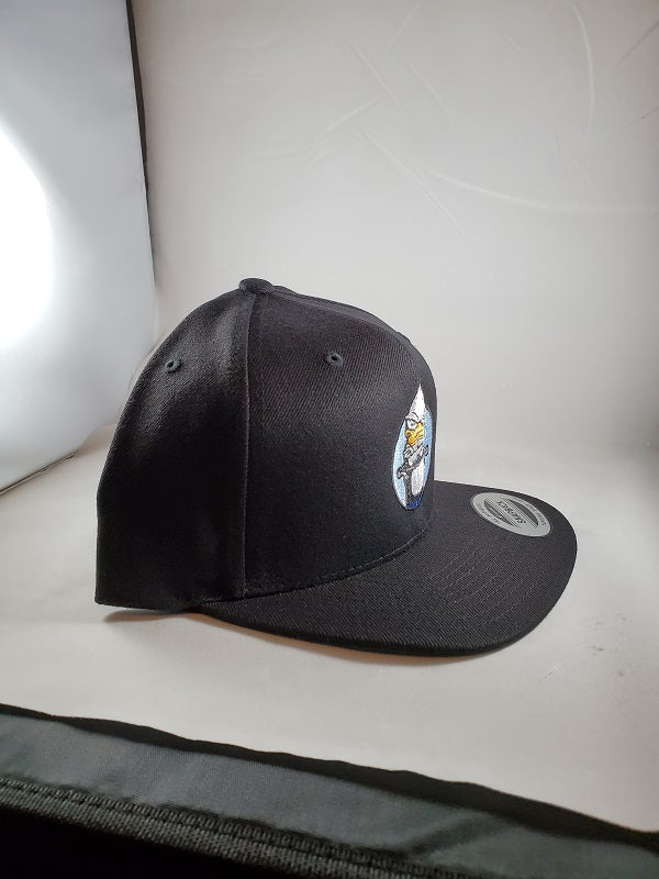 Black Snap Backs Duck Stew Hats