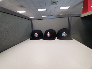 The Red Duck Black Fitted Hats BUY ONE GET ONE FREE!!!!!!