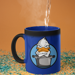 Magic Mugs Blue Duck comes up