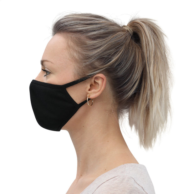 Face Mask (3-Pack) Black Face Masks