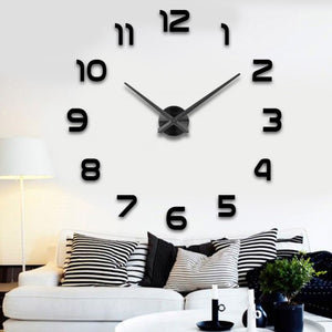 DIY Modern Wall Clock