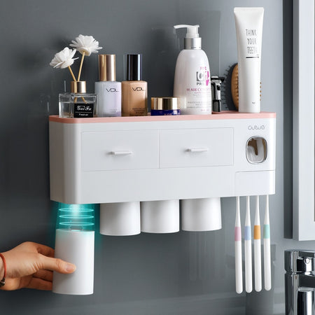 Nordic Multi-Functional Bathroom Organizer