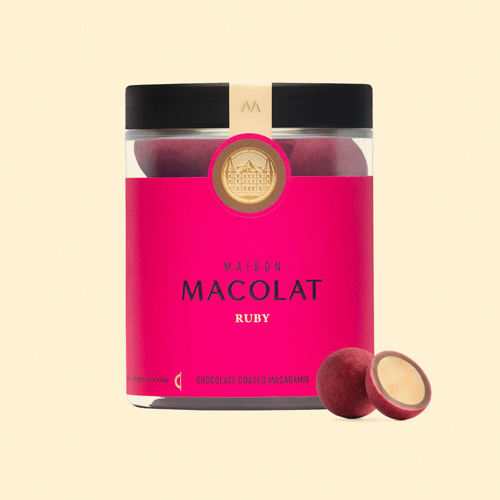 Ruby Chocolate Macadamia