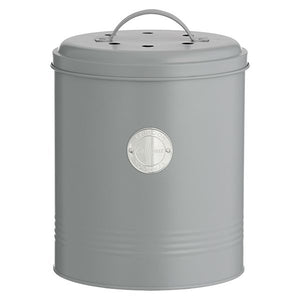 Typhoon Living Grey Compost Caddy