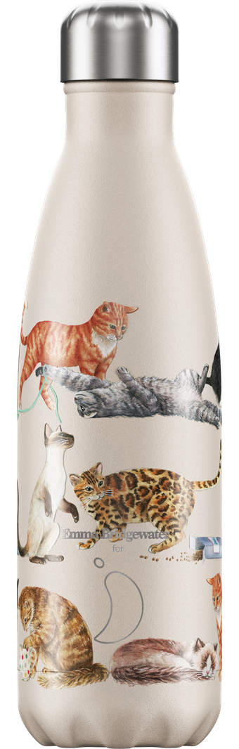 Chilly's 500ml Emma Bridgewater - Cats