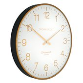 "Thomas Kent - 21"" Greenwich Club Wall Clock - Brass"