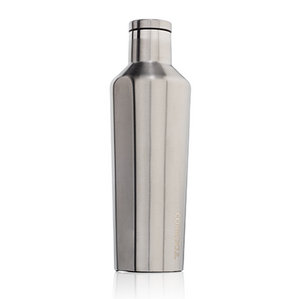 Corkcicle -16oz Canteen - Brushed Steel
