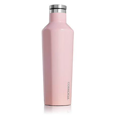 Corkcicle - 16oz Canteen - Gloss Rose Quartz