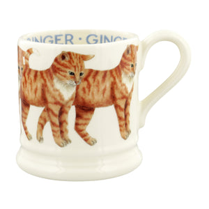 Emma Bridgewater - Cats Ginger Cat 1/2 Pint Mug