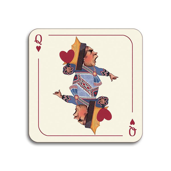 Queen of hearts Coaster