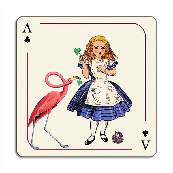 Avenida Home - Alice In Wonderland - Alice and Flamingo Placemat